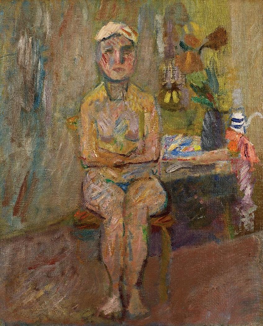 Артур Нахт-Самборський. Ню, 1948; олія, полотно; NMP