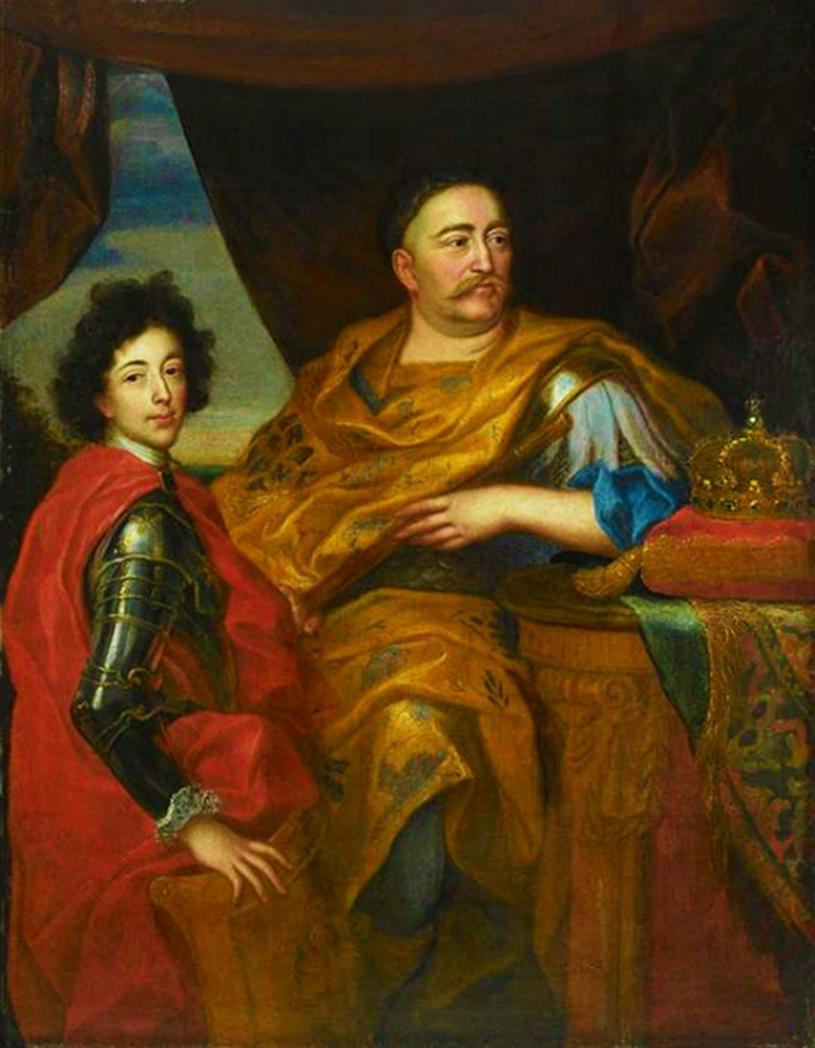 Єжи Шимонович. Ян ІІІ Собеський і син Якуб