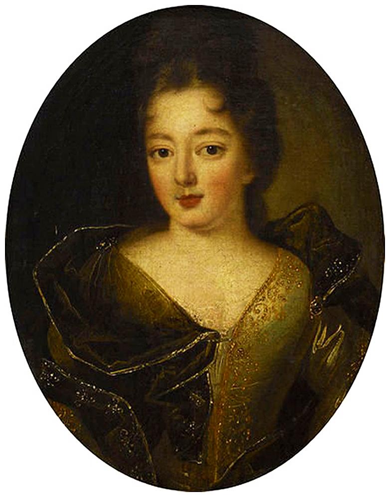 Єжи Шимонович. Тереза Собеська, 1694; полотно, олія; Вілянув