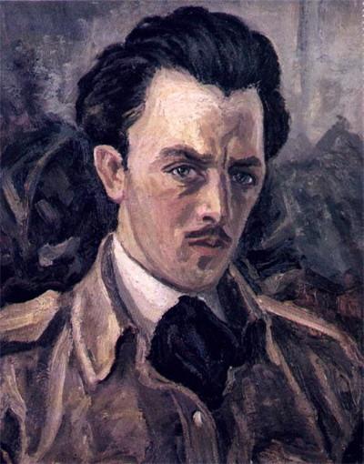 Михайло Мороз. Автопортрет, 1904