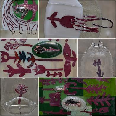 Роксолана Худоба. Консервація рослин, 2014. Скло, фьюзінг.