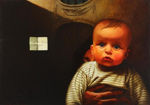 Євген Равський. Ecce Homo, 2010, полотно, олія