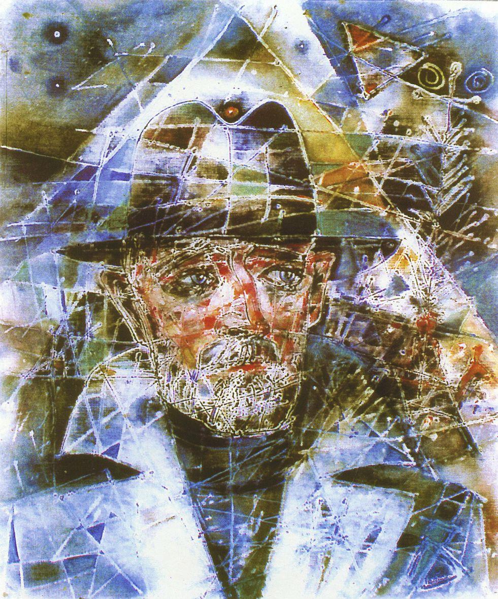 Ігор Боднар. Автопортрет, 2000