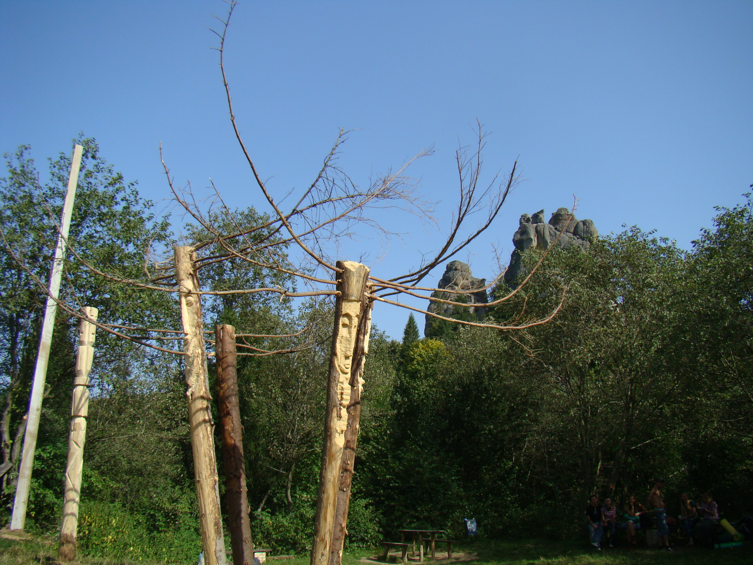Гордій Старух. ЧотириЧудо, 2008. Дерево