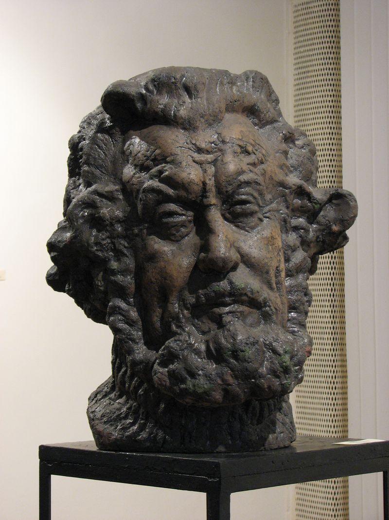 Еммануїл Мисько. Зеновій Кецало, 1979. Шамот, 55х40х28