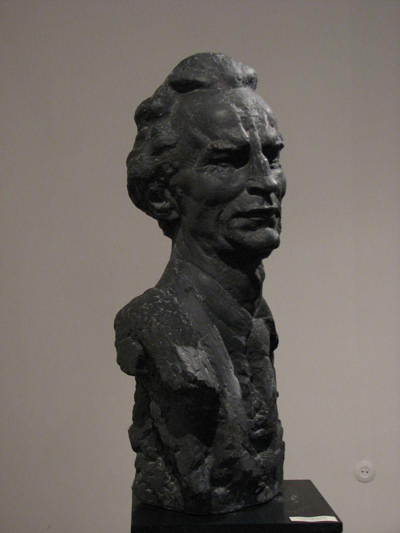 Еммануїл Мисько. Я. Новаківський, 1984. Гіпс тонований