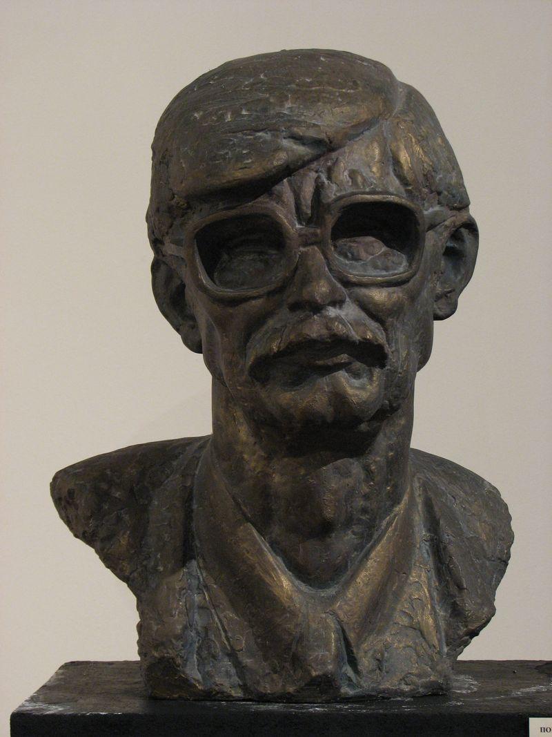 Еммануїл Мисько. М. Косів, 1998. Гіпс тонований
