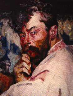 Олекса Новаківський. Автопортрет, 1911