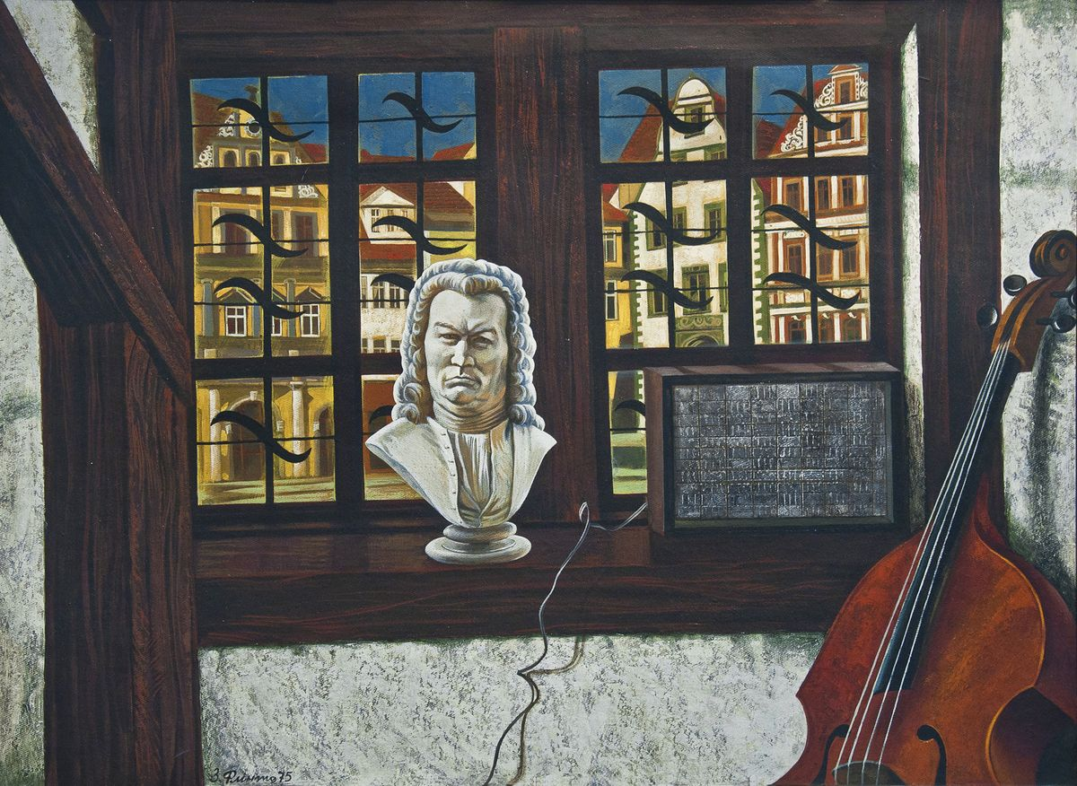Зеновій Флінта. Мелодія Баха (Айзенах), 1975