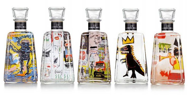 6 робіт Баскії прикрасили пляшки з текілою