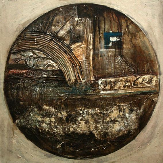 Галина Дудар. Планета маленького Принца, 2009. Полотно, олія, 60х60