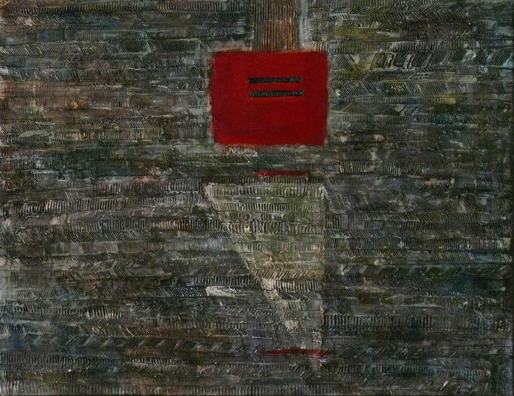Галина Дудар. Синє поле, 2009. Полотно, олія, 60х80
