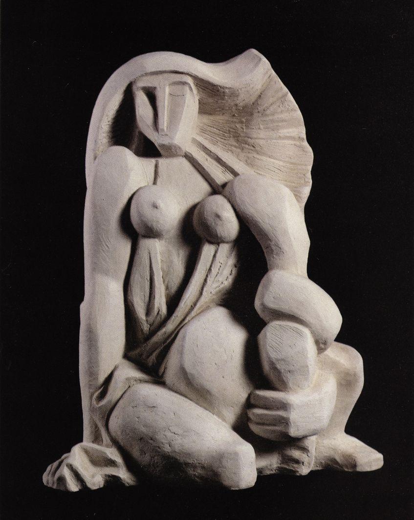 Петро Маркович. Єва, 2002, глина h-40