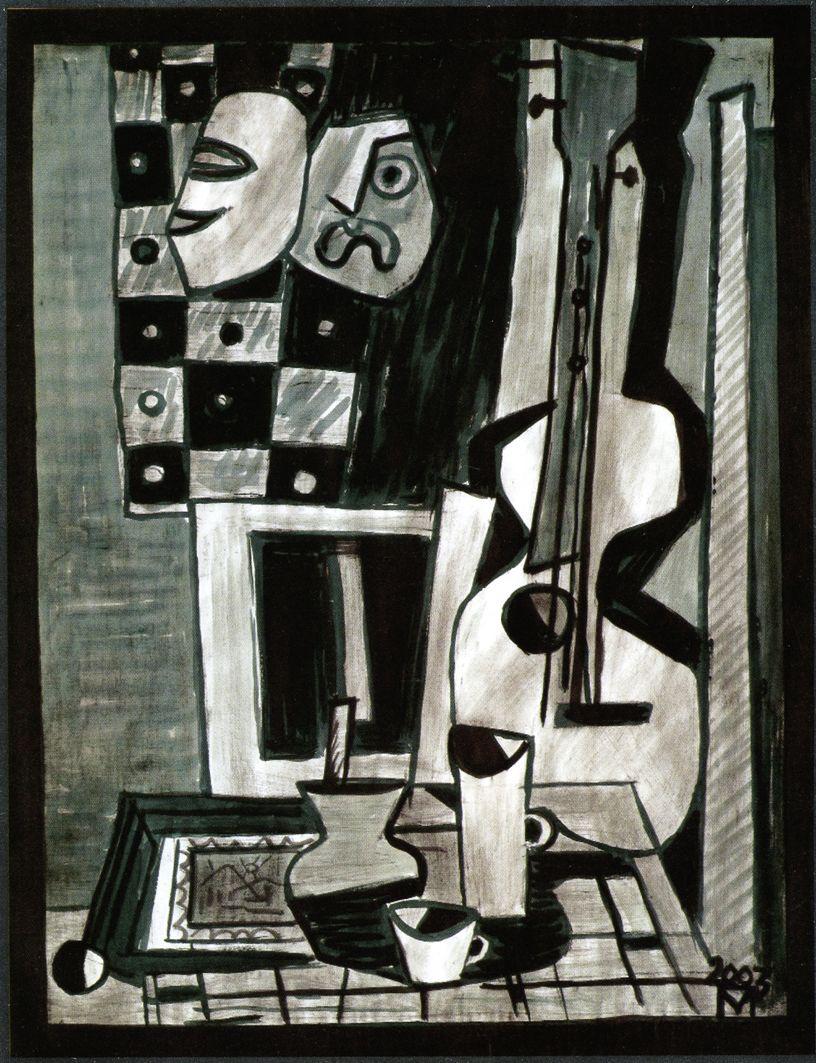 Петро Маркович. Натюрморт з гітарою, 2003