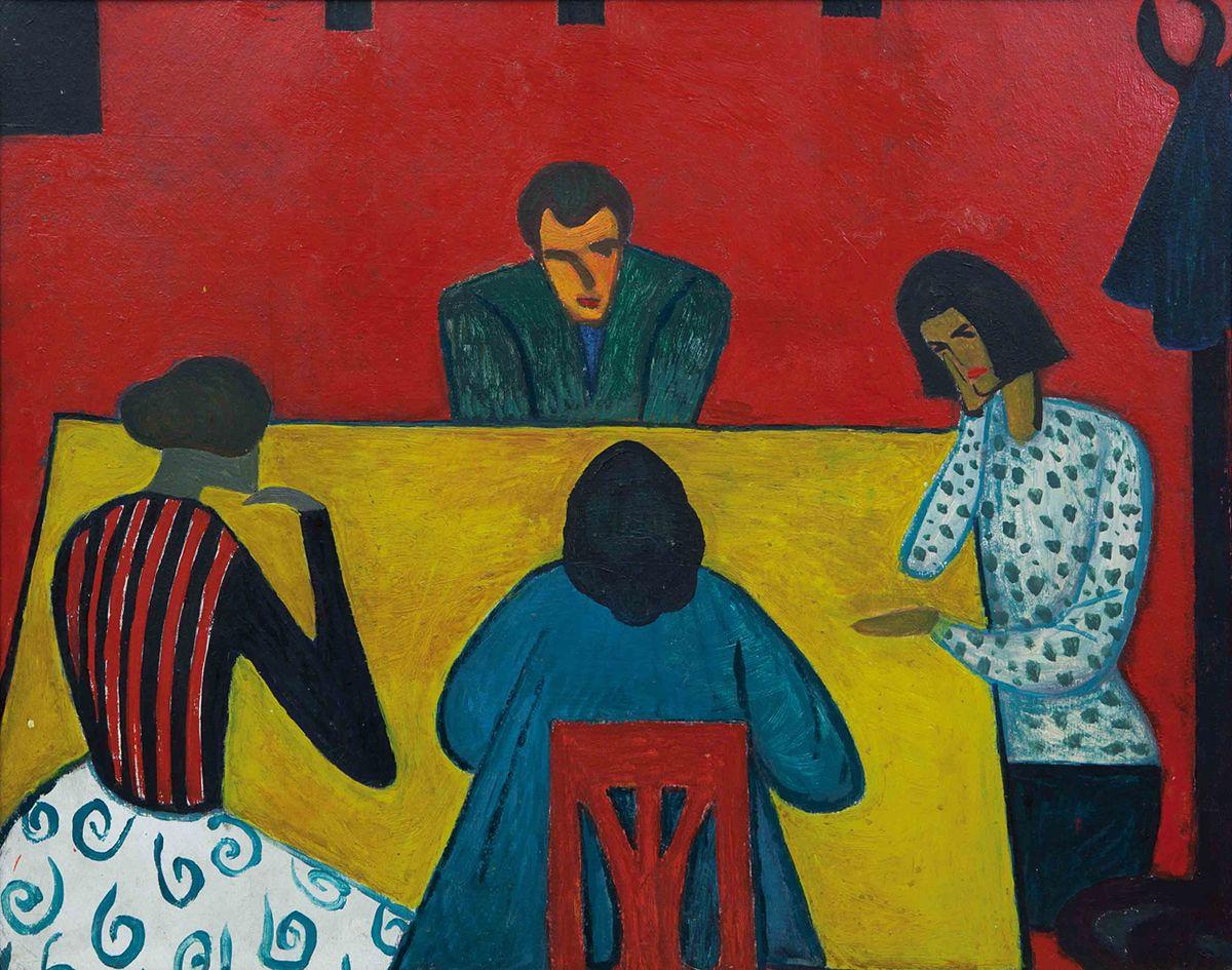 Петро Маркович. Розмова, 1961