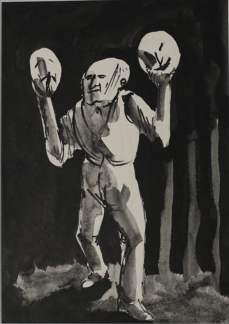 Роман Петрук. Блазень, 1967
