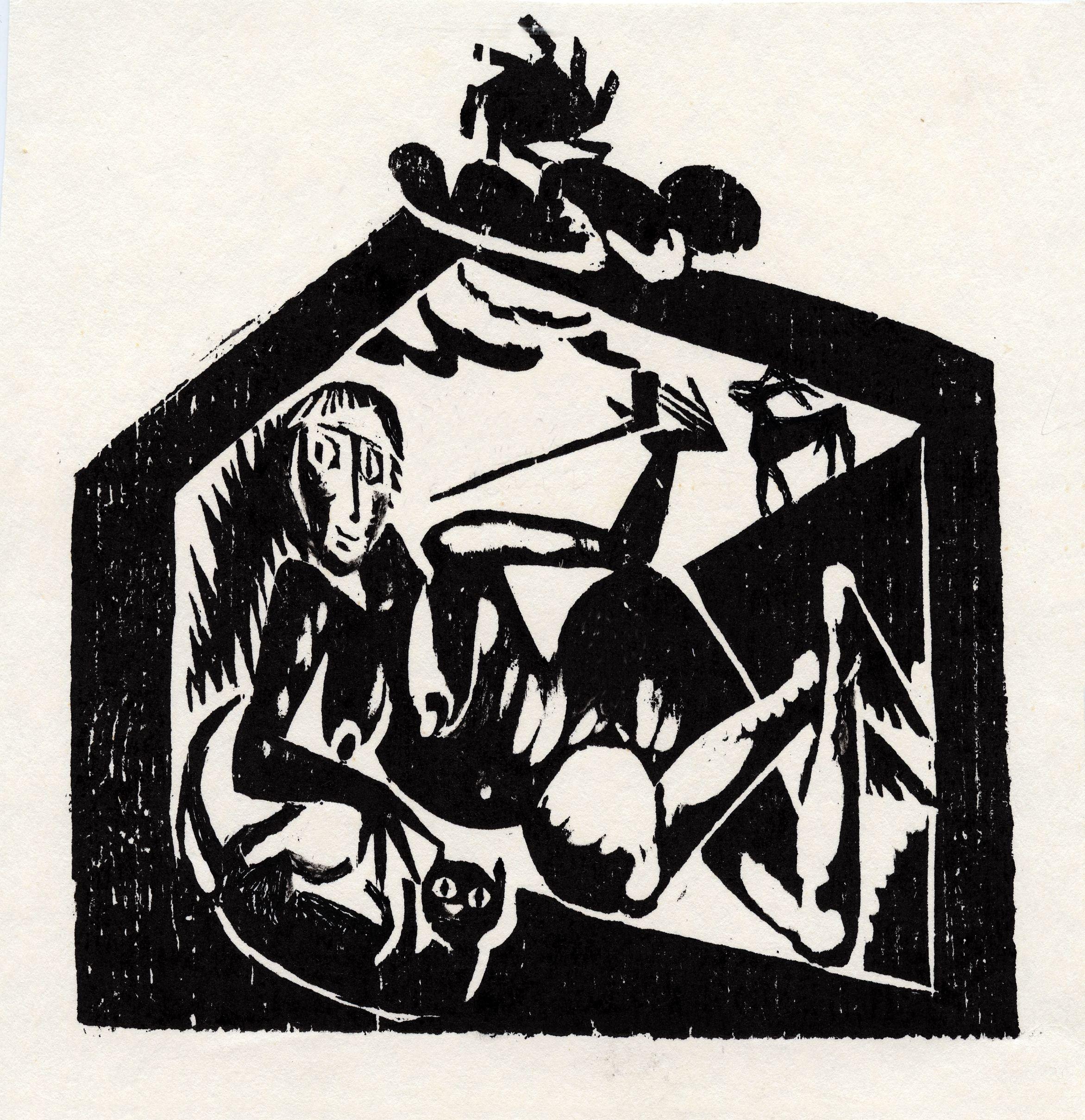 Роман Петрук. Чорна Тиса, 2001; 18,5х17