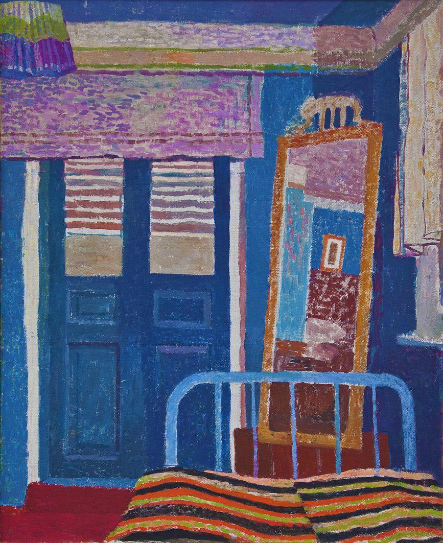 Вітольд Манастирський. Інтер'єр із дзеркалом, 1960