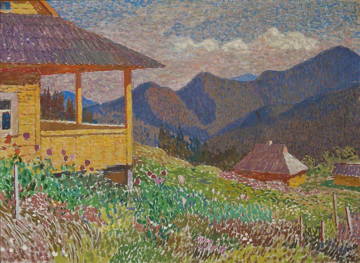 Вітольд Манастирський. Квітуча Дземброня, 1956