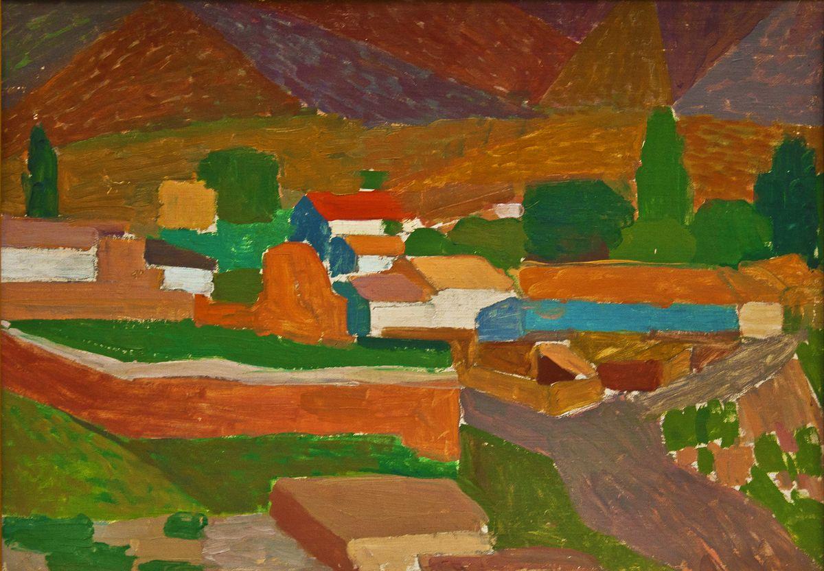 Вітольд Манастирський. Рожевий мур, 1962