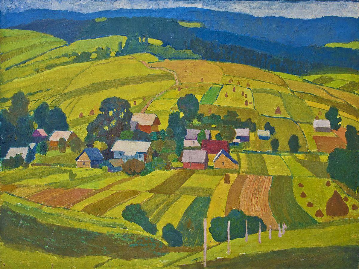 Вітольд Манастирський. Село Долинівка, 1977