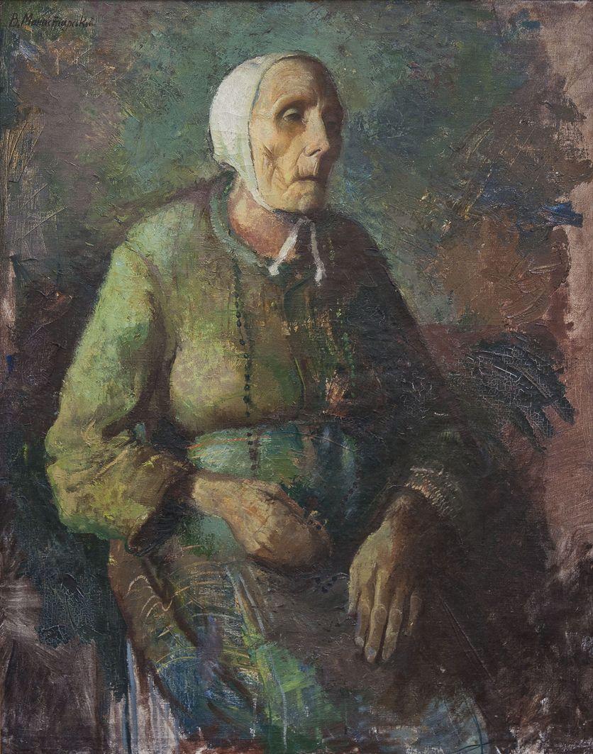 Вітольд Манастирський. Студія столітньої бабусі, 1935