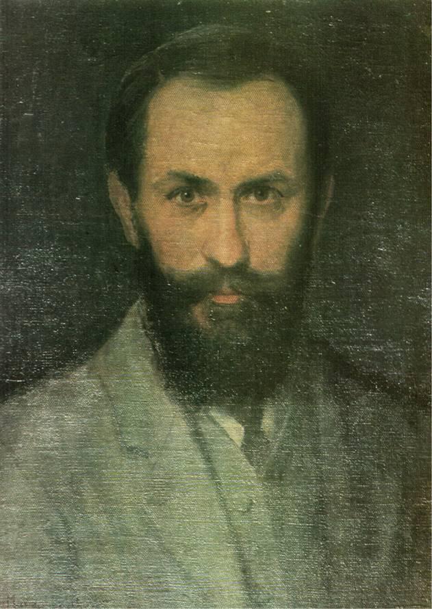 Антін Манастирський. Автопортрет