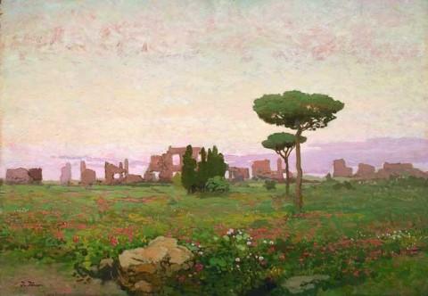 Іван Труш. Італійський пейзаж