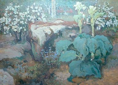 Іван Труш. В саду