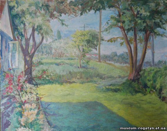 Володимир Баляс. Пейзаж, 1952