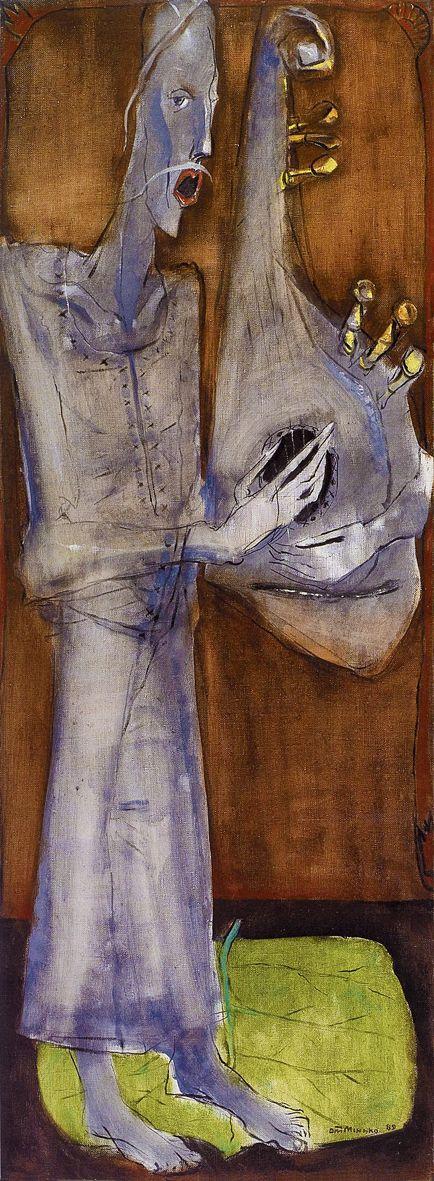 Олег Мінько. Бандурист, 1989