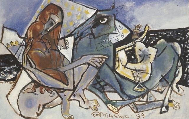 Олег Мінько. Жінка та кінь, 1999