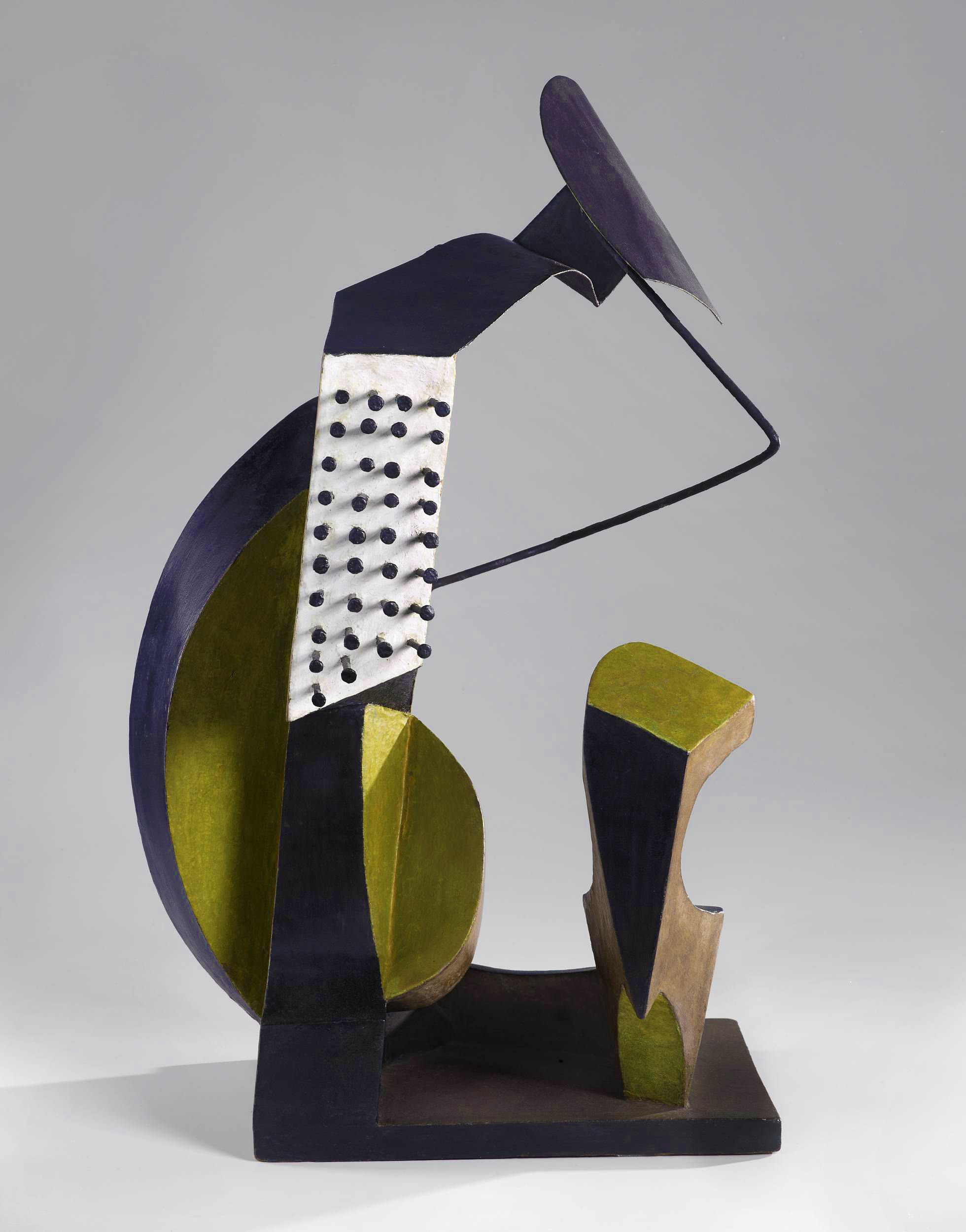 Леопольд Левицький. Композиція музикальна, 1935; дерево, метал; h-70; NMW