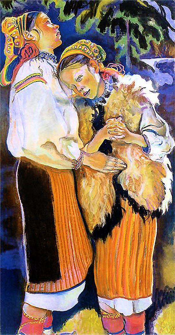Казимир Сіхульський. Вербна неділя, 1906