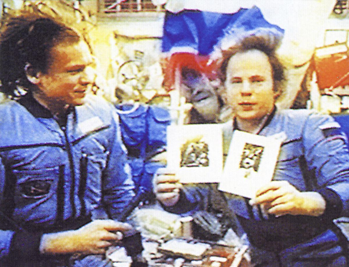 Ігор ПодольчакЕкспозиція в космосі, 1993