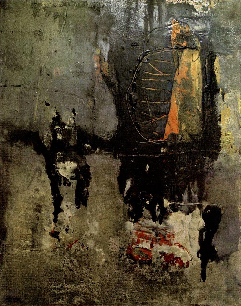 Ігор Янович. Композиція з чорним, 2007