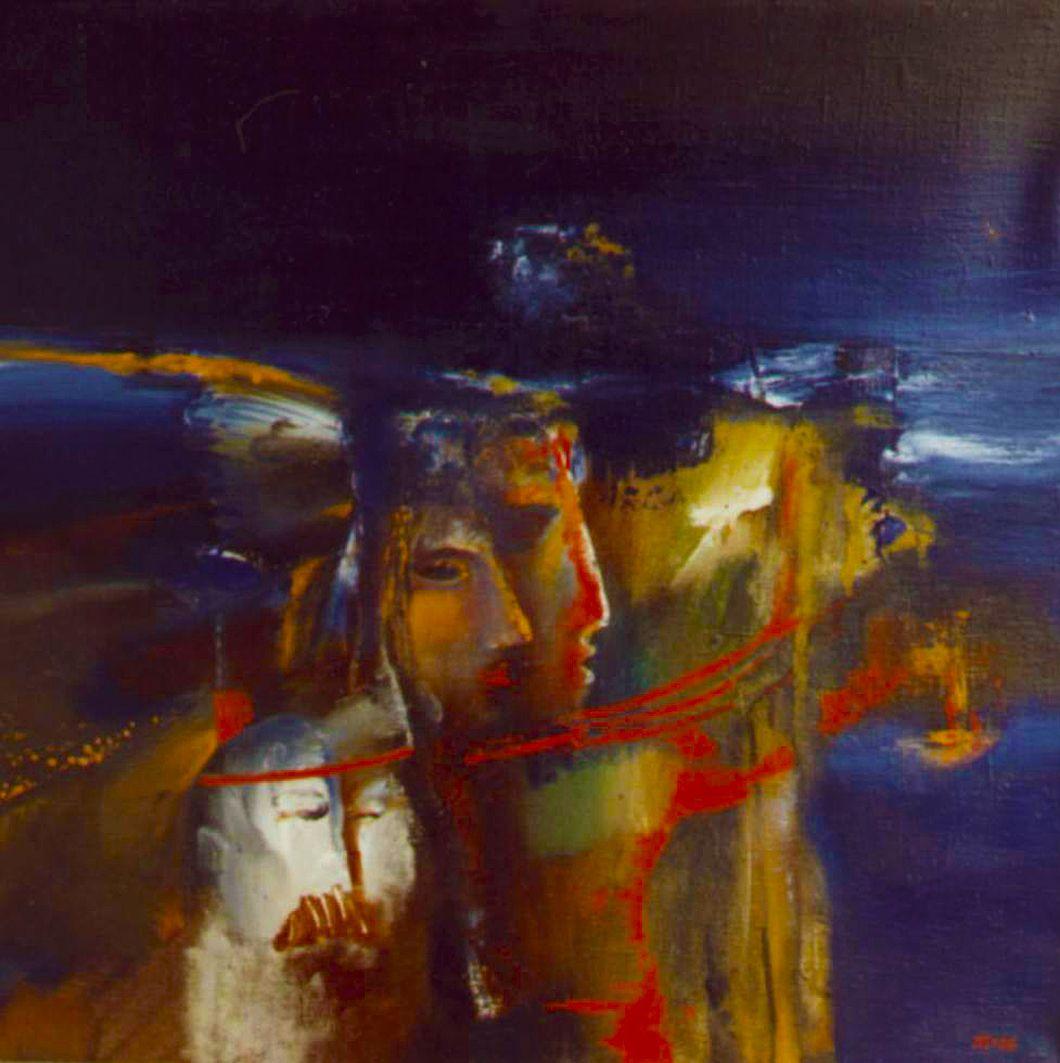 Ігор Янович. В ніч під Новий рік, 1988