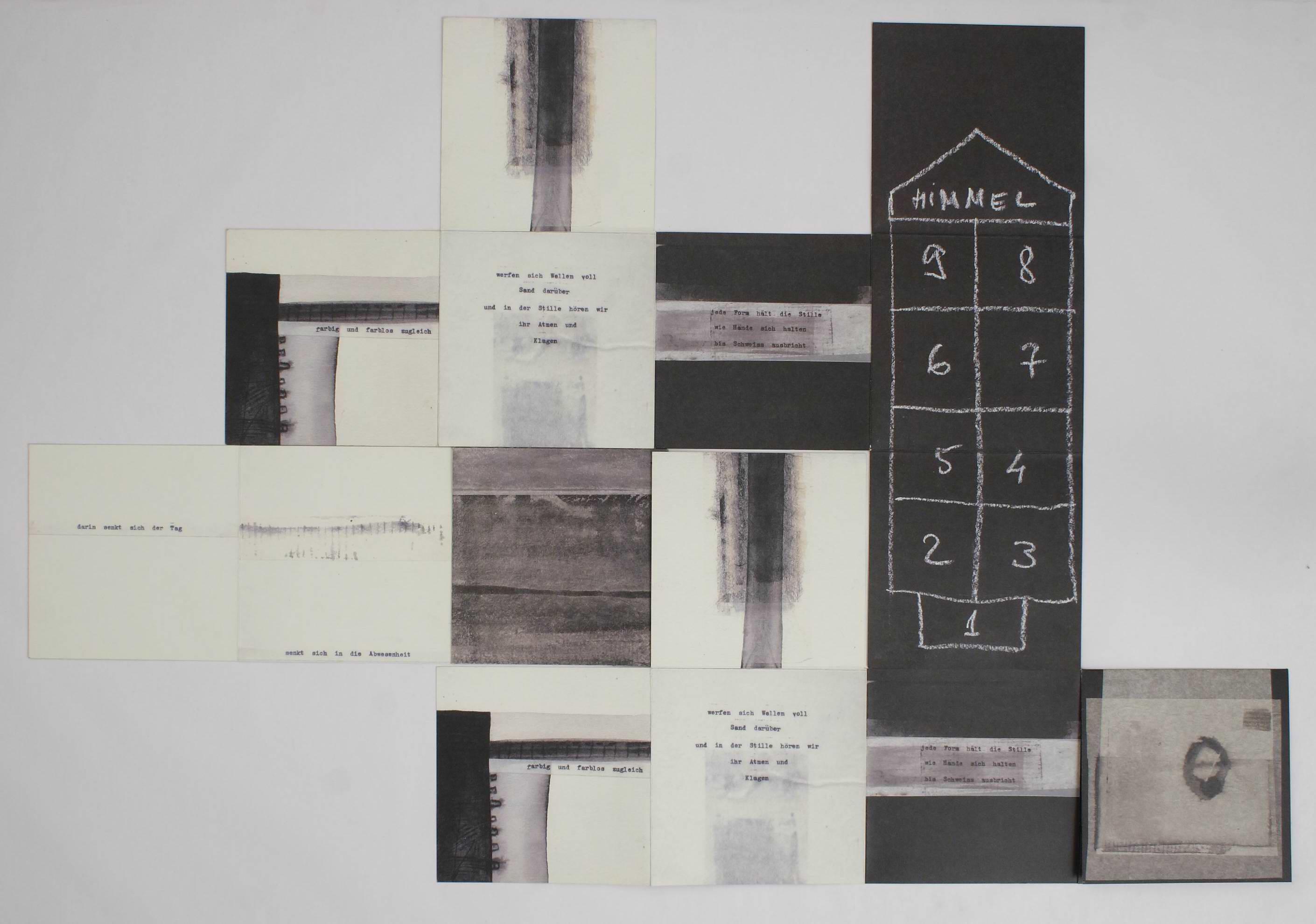 Олена Турянська. Артбук «Тиша», 2005; один із варіантів прочитання