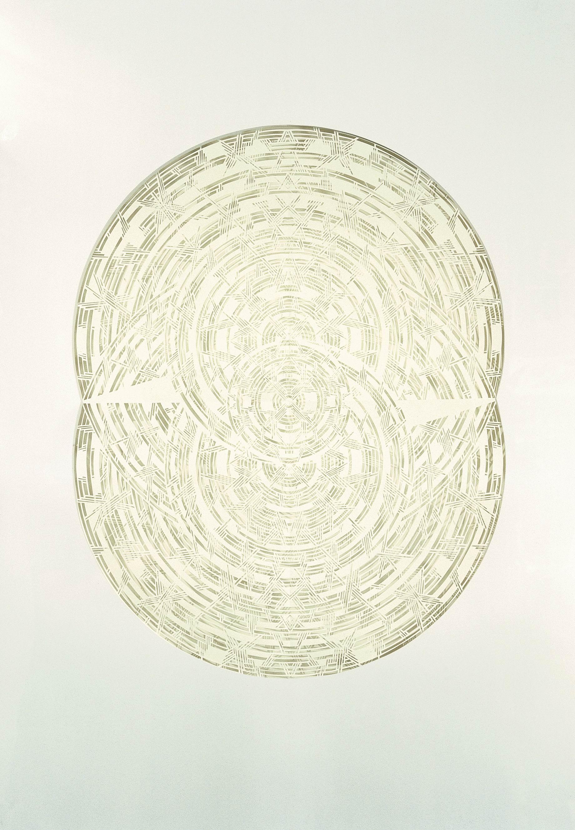 Олена Турянська. Безмежність ІІІ-V, 2006; папір, витинання, 100х70