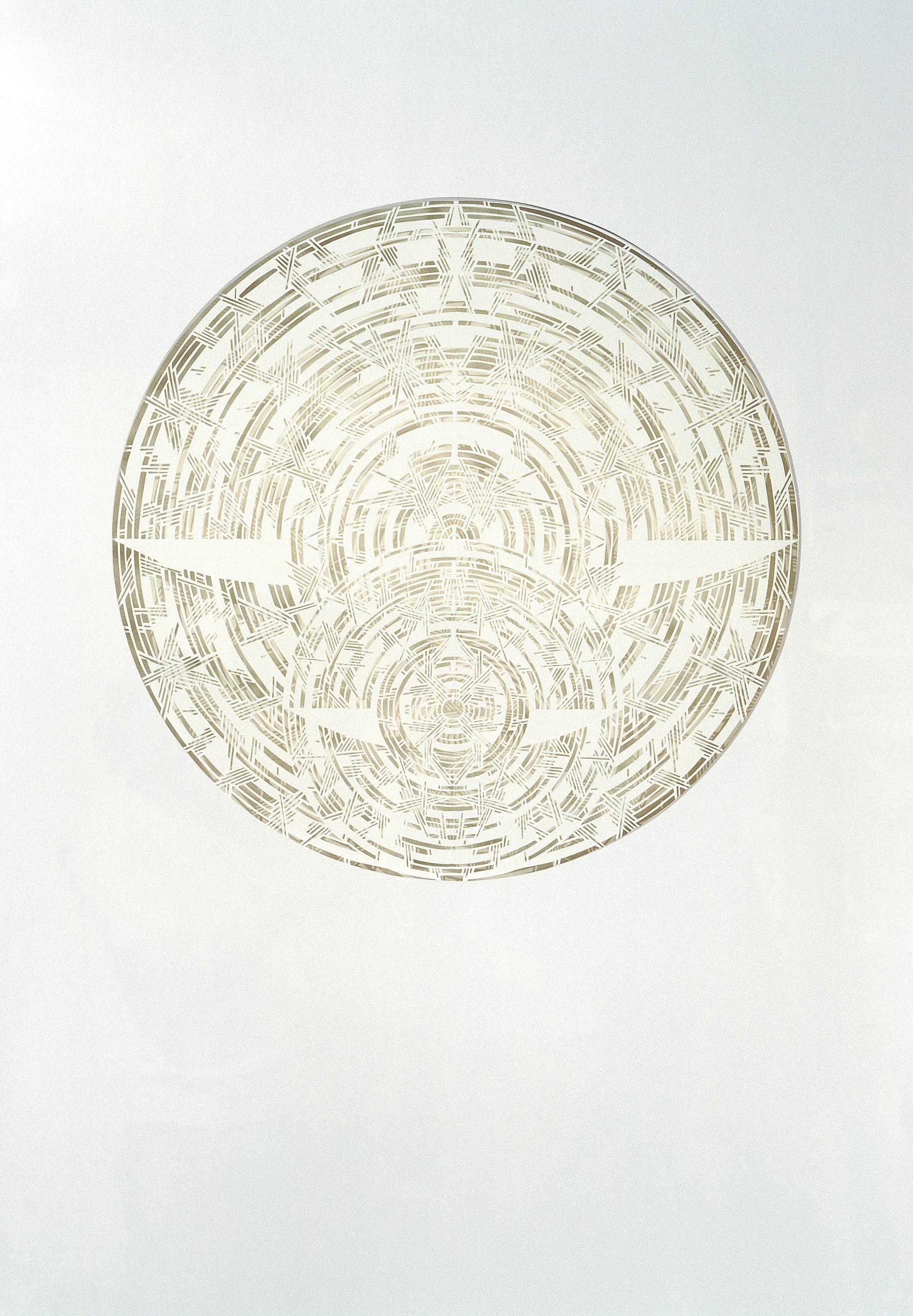 Олена Турянська. Безмежність ІІІ-ХІ, 2006; папір, витинання, 100х70