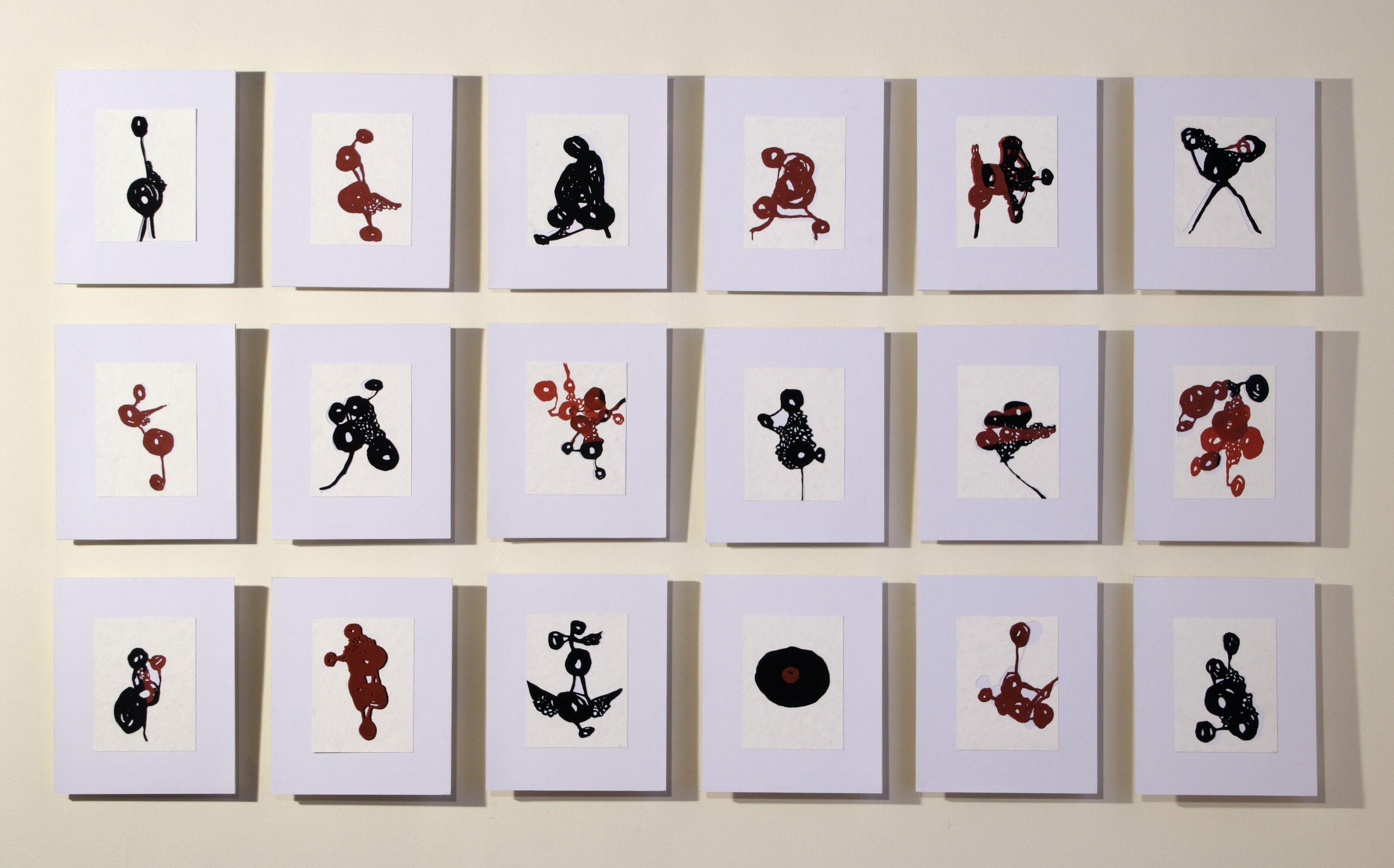 Олена Турянська. Some more than amore, 2007; папір, витинання, колаж, 100х180