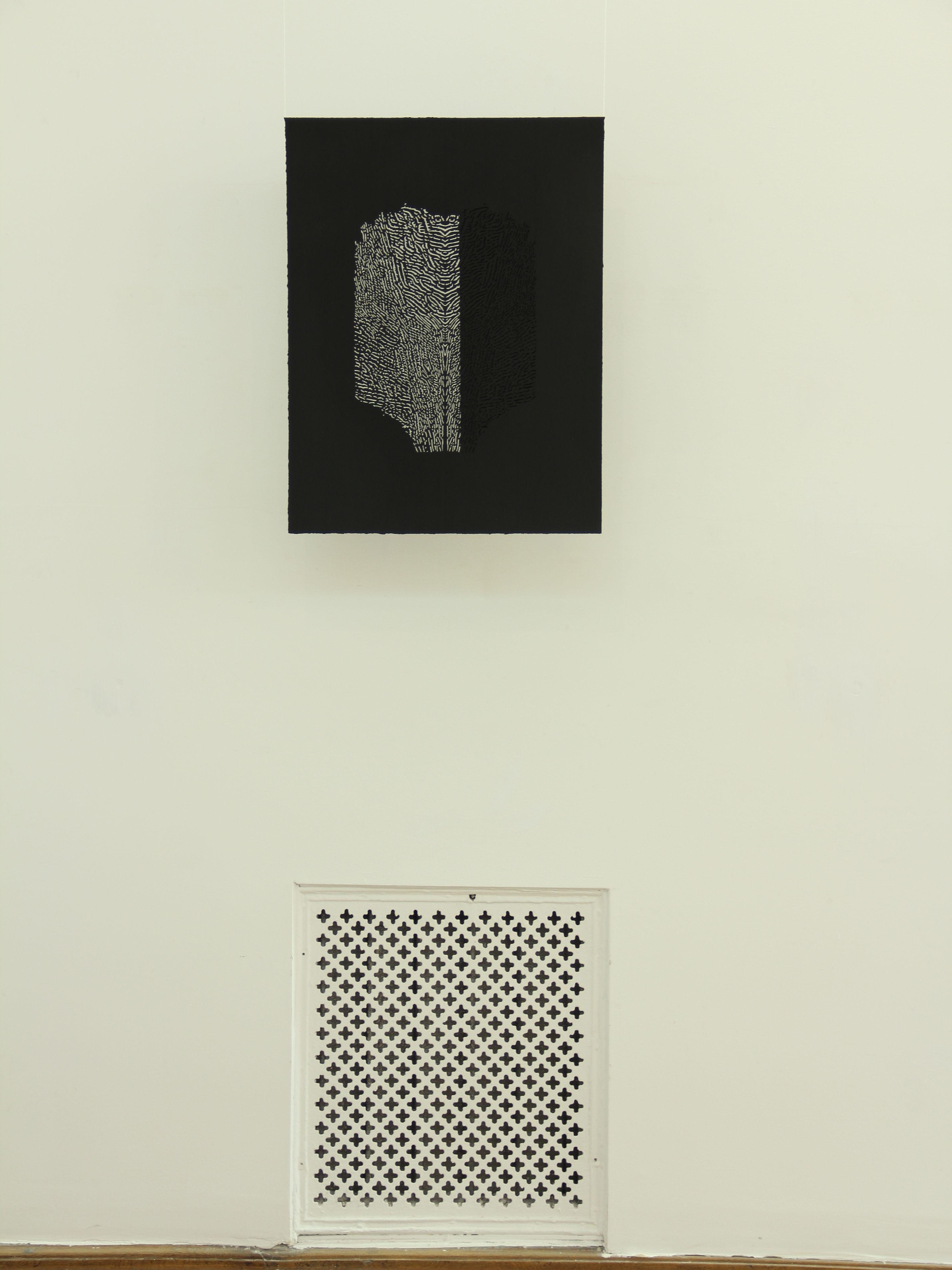 Олена Турянська. Відтворення, 2013; папір, витинання 50х70
