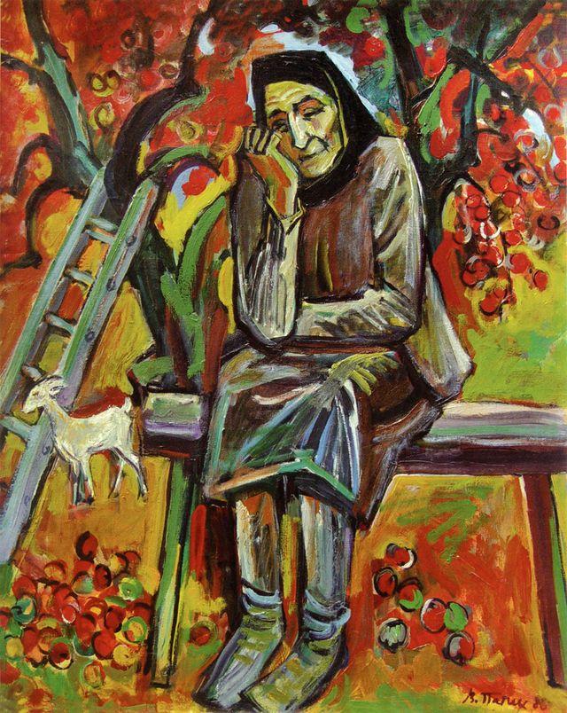 Володимир Патик. Самотність, 1988
