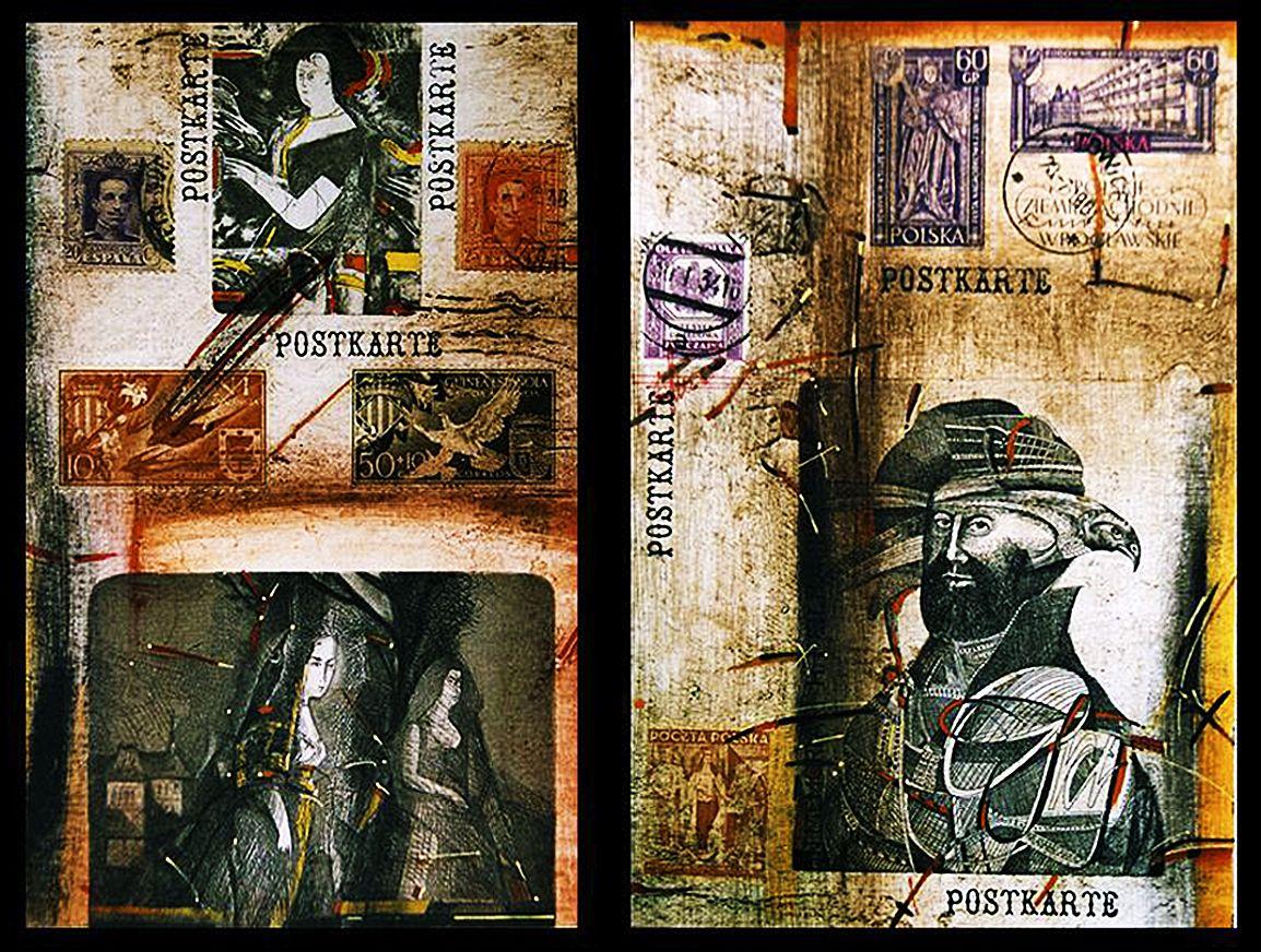 Богдан Пікулицький. POSTKARTE, 2002, мікс