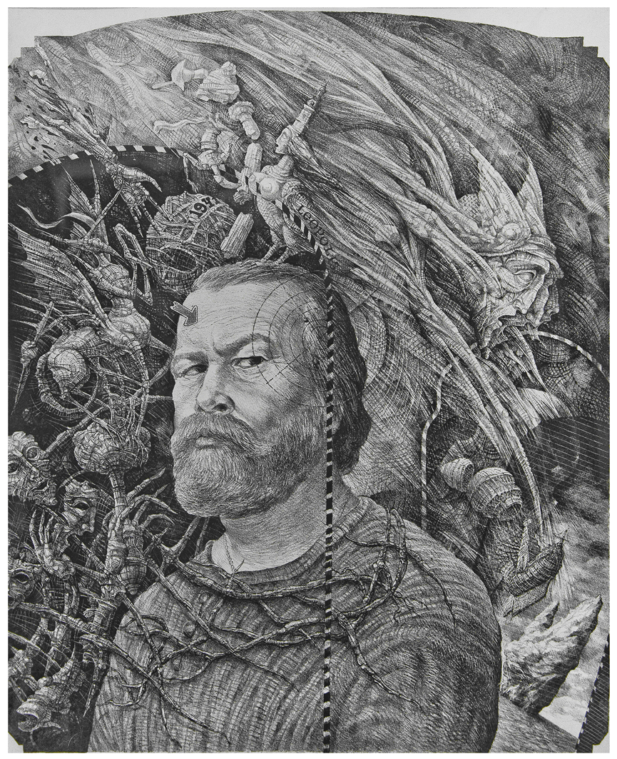 Володимир Пінігін. Автопортрет, 1985