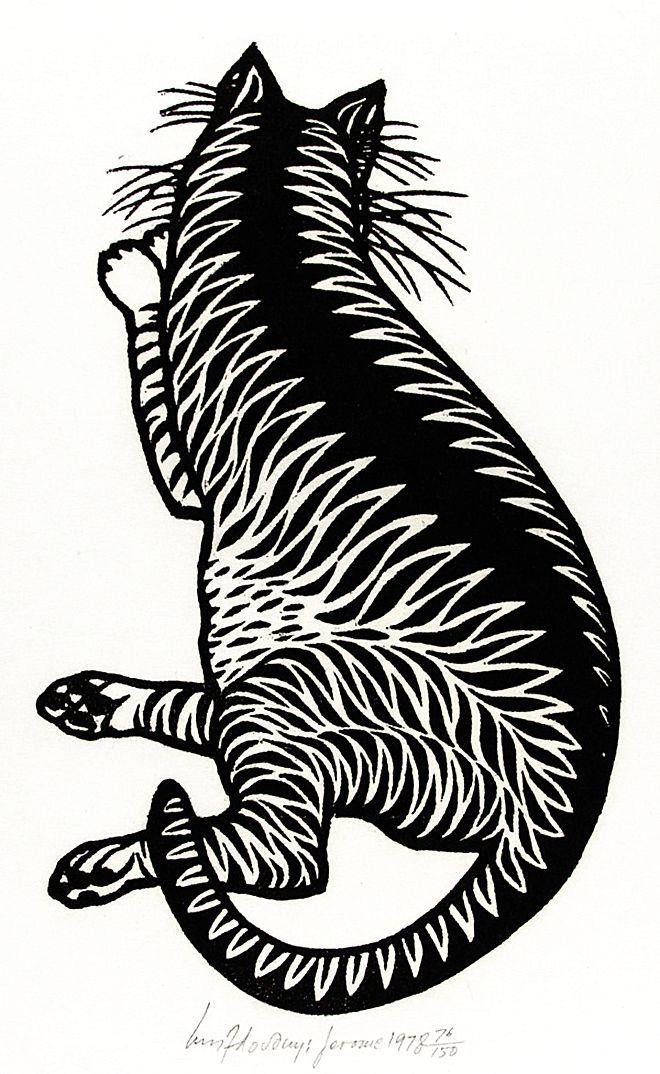 Яків Гніздовський. Кіт, 1978