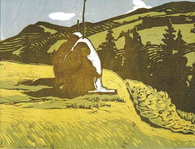 Зеновій Кецало. Вид на Чорногору, 1956