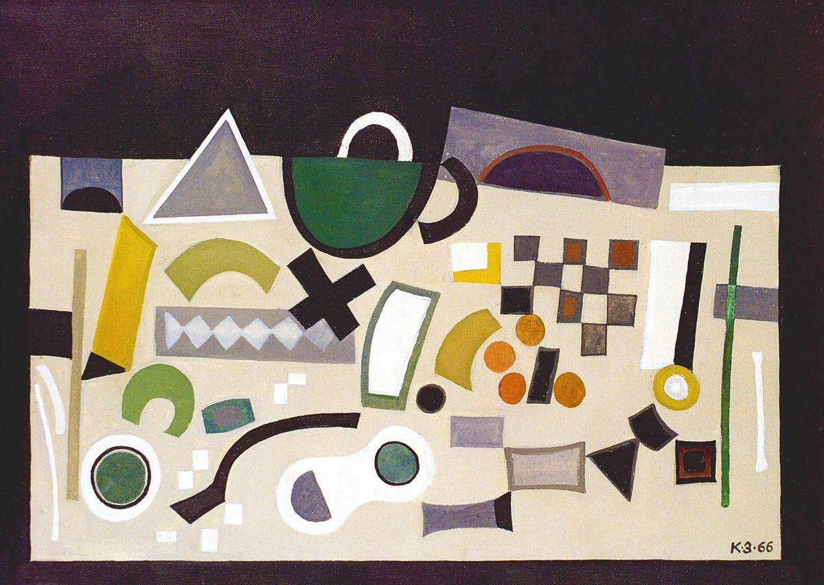 Карло Звіринський. Натюрморт, 1965