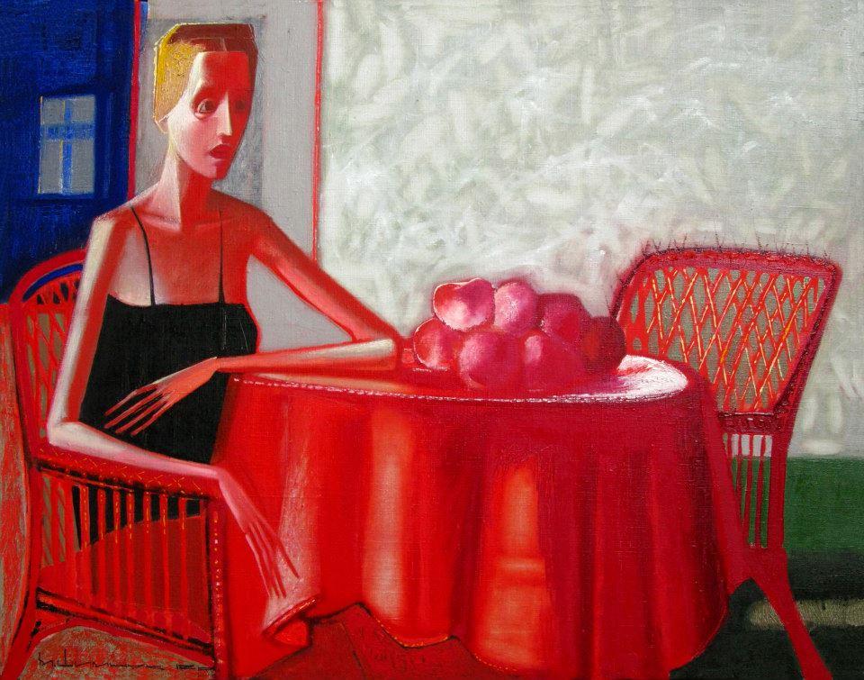 Микола Шимчук. Очікування, 2011. Полотно, олія, 70х90