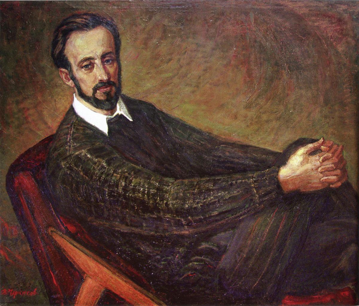 Володимир Черкасов. Портрет сина, 1998